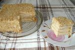 торт Наполеон быстрого приготовления