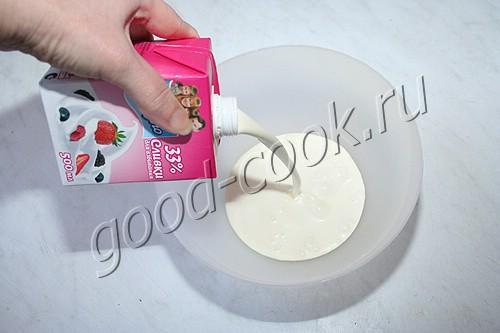 сливочный (сметанный) крем