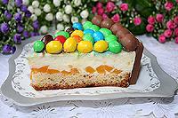 йогуртовый торт с ягодами или фруктами