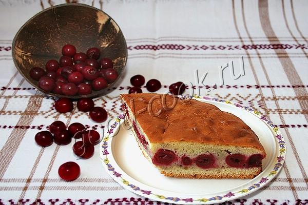 Закрытый пирог я ягодами рецепт 128