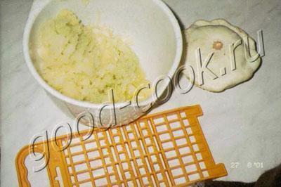 оладьи из кабачков (сладкие)