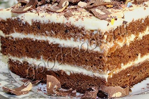 """торт """"Негр в пене"""""""