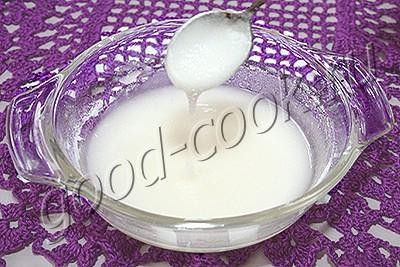 рецепт сахарной глазури с фото
