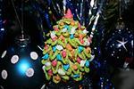 объёмное печенье Ёлочка