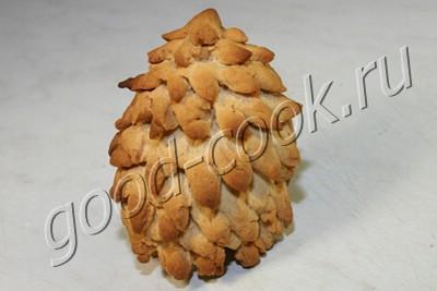 """объёмное печенье """"Ёлочка"""""""