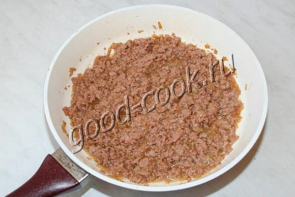 пирожки с печеночной колбасой