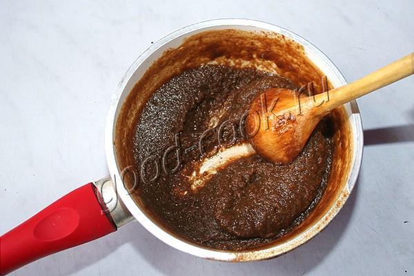 заварной кофейный крем