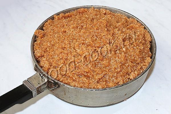 датский кокосово-карамельный пирог