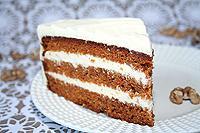 Пряный морковный торт