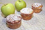 медовые кексы с яблоками