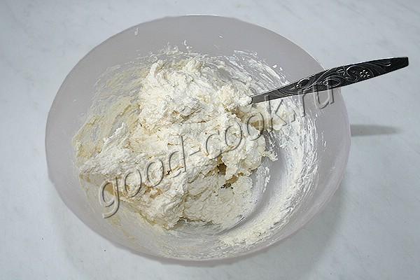 запеченные сырники со сметанной шапочкой
