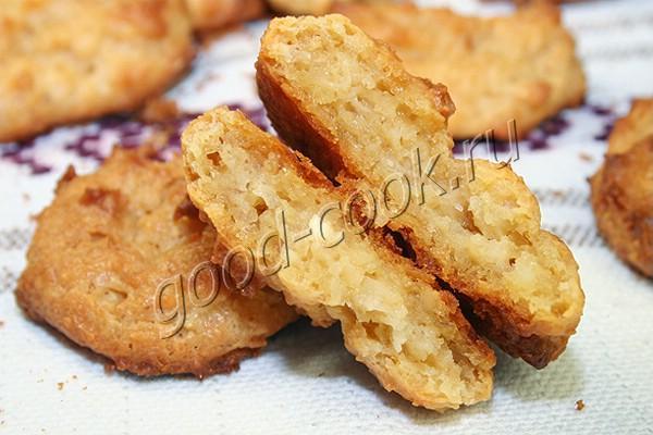 творожное печенье без муки и сахара