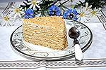 торт Молочная девочка с творожно-сметанным кремом