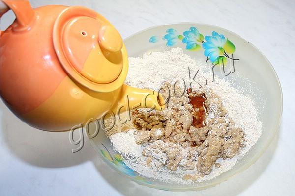 постные овсяные крекеры