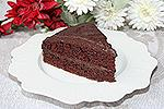 постный шоколадный торт с шоколадным кремом