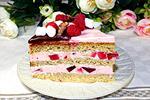 торт Двойная малина