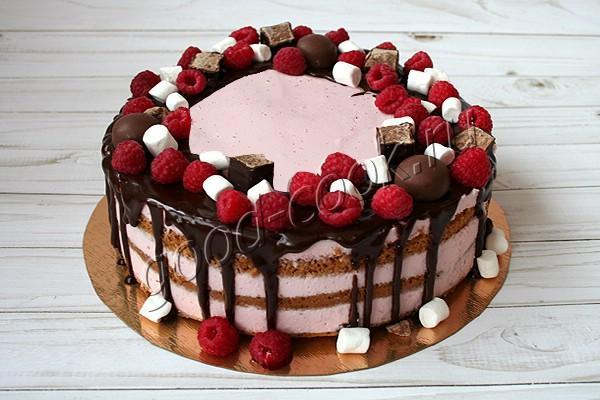 "торт ""Двойная малина"""