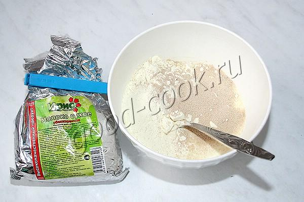 молочный кулич (на сухом молоке)