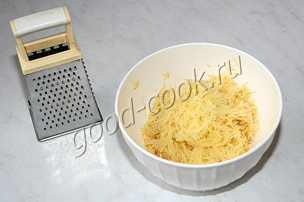 картофельная лепёшка (из сырого картофеля)