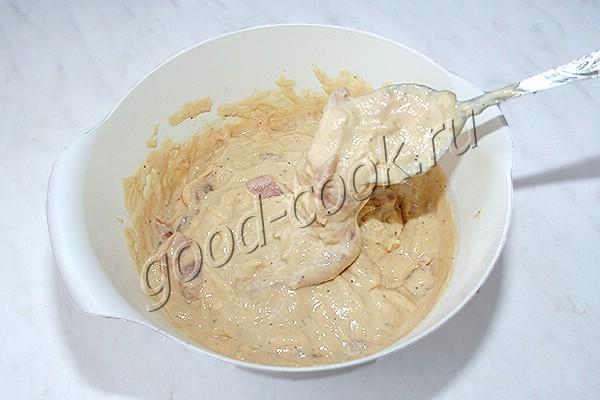 быстрый пирог с курицей и сыром