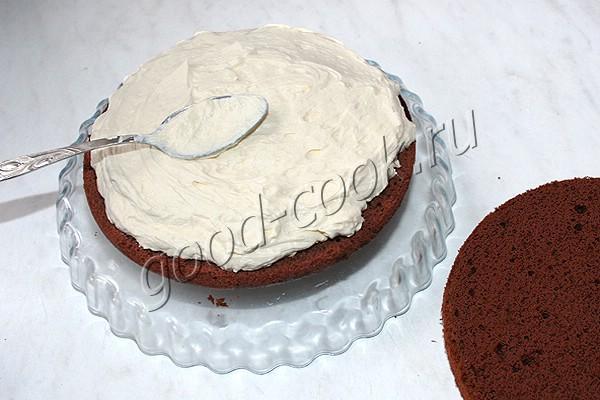 "торт ""Молочный бутерброд"""