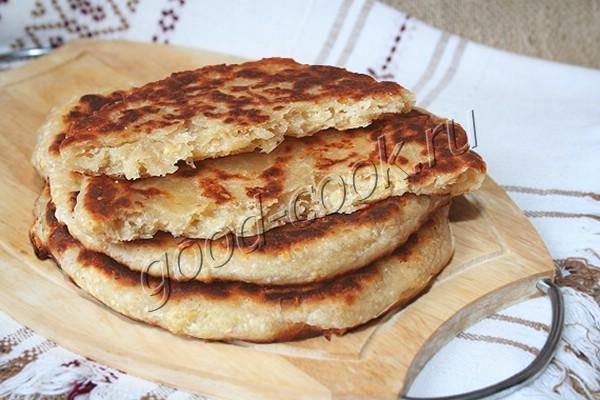 простые сырные лепёшки