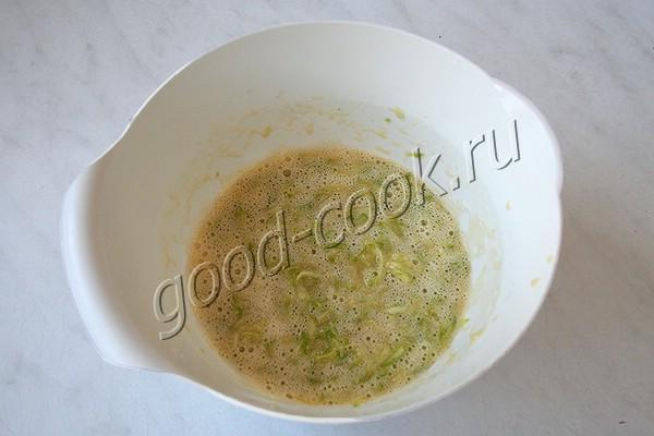 жареные лепёшки с кабачками и зеленью