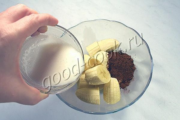торт с банановым муссом