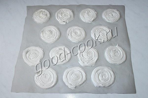 пирожные мини-Павлова