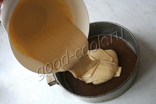 масляный бисквит на крахмале
