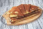 жареные сырные лепёшки (из жидкого теста)