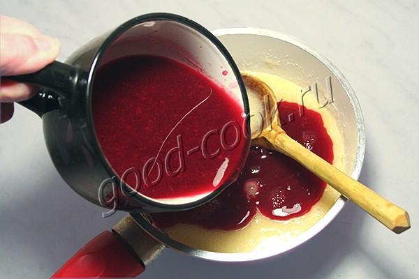 сливочно-ягодный крем