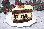торт Орео с чизкейком внутри
