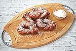 творожные скрученные пончики