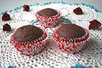 шоколадные кексы на заварной помадке