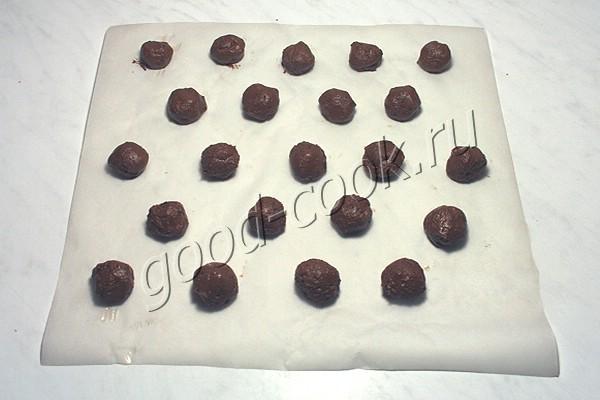 американское шоколадное печенье с арахисом