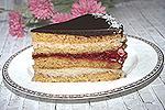 румынский медово-кокосовый торт Дульсинея