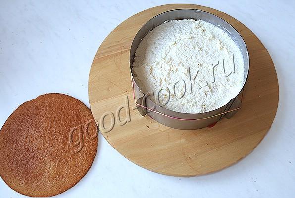 """румынский медово-кокосовый торт """"Дульсинея"""""""