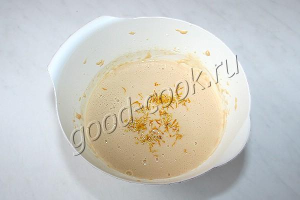 лимонные блины с лимонным соусом