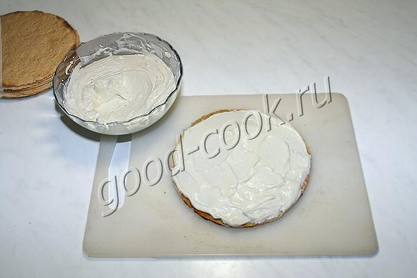 """торт """"Орех и абрикос"""""""