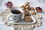 кофейно-ореховое печенье