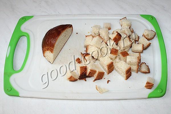 хлебный пудинг в чашке