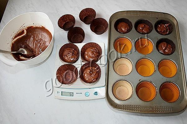 супер шоколадные кексы
