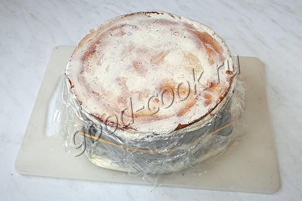"""торт """"Молочная девочка"""" с кремом из сливочного сыра"""