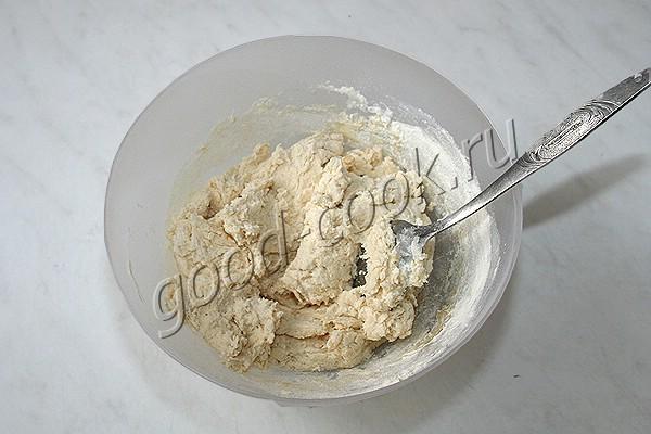 быстрое сметанное тесто на растительном масле