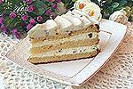 творожный торт Белый шоколад