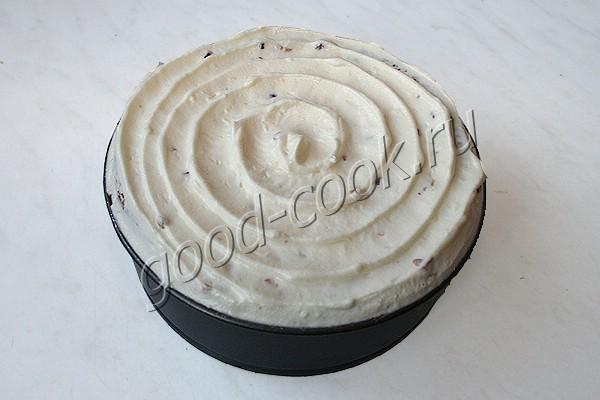 """творожный торт """"Белый шоколад"""""""