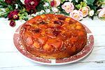 перевёрнутый пирог с фруктовым миксом