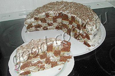 торт Шахматный - 1