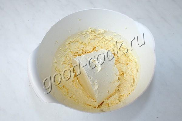 заварной кофейный крем со сливочным сыром